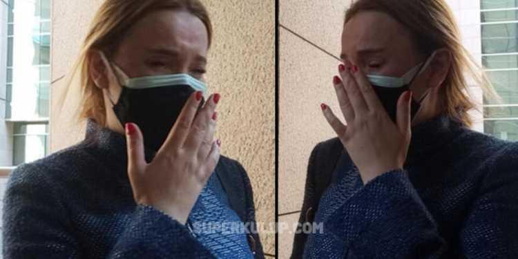 6 yaşındaki kızının velayetini kaybeden Meral Kaplan gözyaşlarına boğuldu