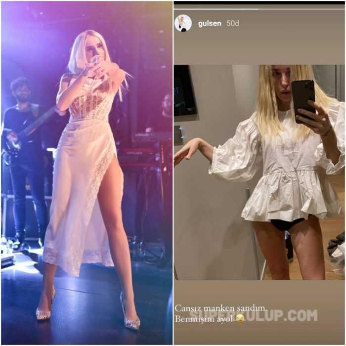 Şarkıcı Gülşen'in pozu sosyal medyayı ayağa kaldırdı