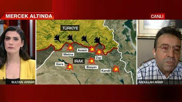 'Parçalanmış durumdalar' diyen Abdullah Ağar'dan canlı yayında flaş sözler: 'Sahadaki teröristler cıyak cıyak'
