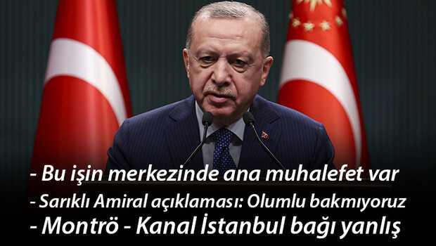 Son dakika… Cumhurbaşkanı Erdoğan'dan flaş mesajlar! Bildiri tepkisi… 'Sarıklı Amiral' açıklaması