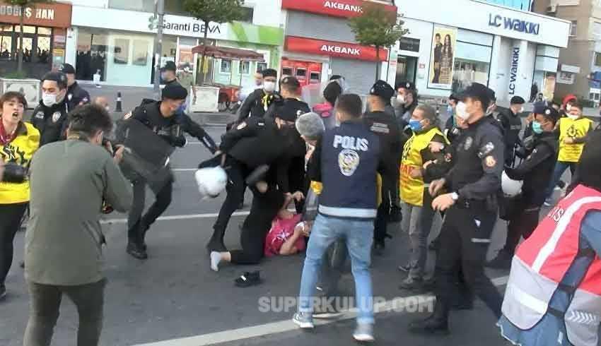 Taksim'e yürümek isteyen 20 kişi gözaltına alındı, metro istasyonları kapatıldı