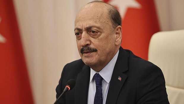 Çalışma ve Sosyal Güvenlik Bakanı Bilgin, DİSK Genel Başkanı Çerkezoğlu ile görüştü