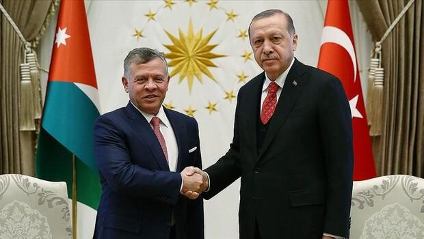 Cumhurbaşkanı Erdoğan'dan Mescid-i Aksa için kritik görüşmeler