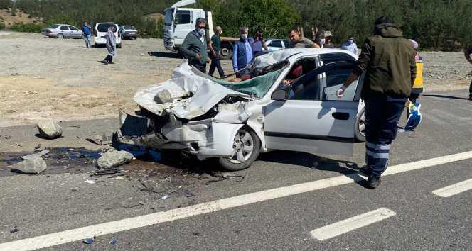 Kahramanmaraş'ta trafik kazası: 4 ölü