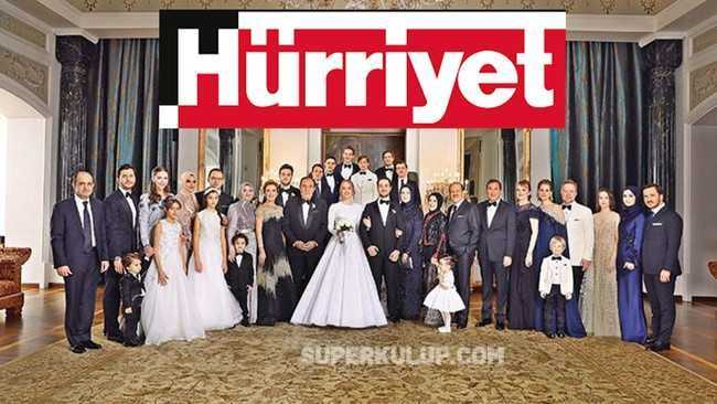 """Hürriyet Gazetesi'nden damada """"manşet"""" jesti!"""