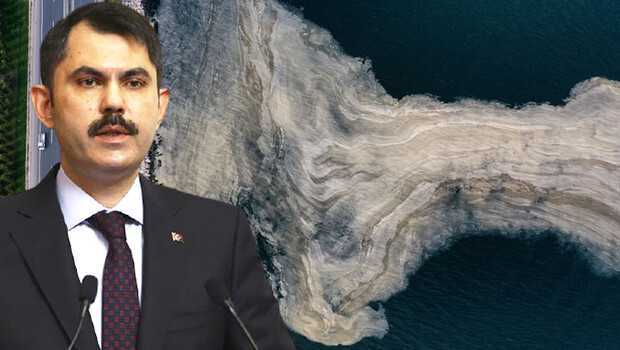 Marmara Denizi'ndeki müsilaj sorunu… Bakan Kurum: Yarın eylem planını paylaşacağız
