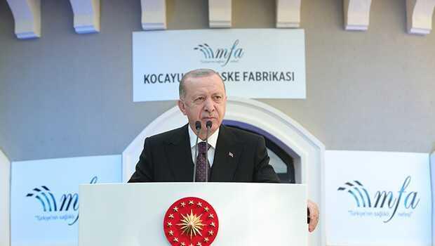 Son dakika… Cumhurbaşkanı Erdoğan: Tıbbi ve cerrahi maske ihracatımız 100 kat artış gösterdi