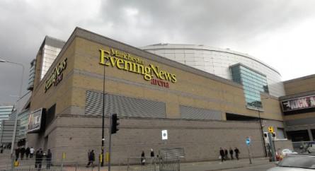 MEN Arena, em Manchester, pode receber mais uma edição do UFC ainda em 2013