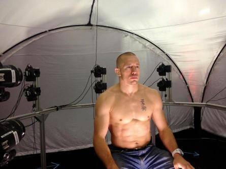 GSP (foto) tem imagem capturada para game do UFC. Foto: Twitter/Reprodução