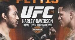 Divulgado o pôster do UFC 164 com Henderson e Pettis
