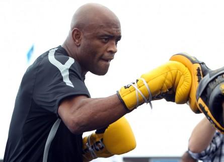 Anderson (foto) enfrentará Diaz em janeiro. Foto: Josh Hedges/UFC