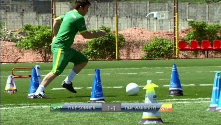 Sonnen vence Wand no futebol
