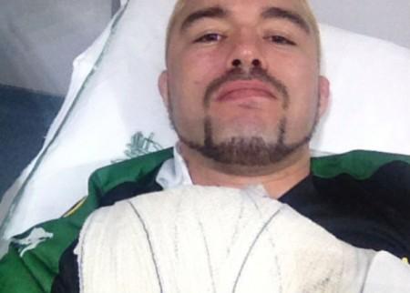 Jason (foto) passou por cirurgia em São Paulo. Foto: Reprodução/Instagram