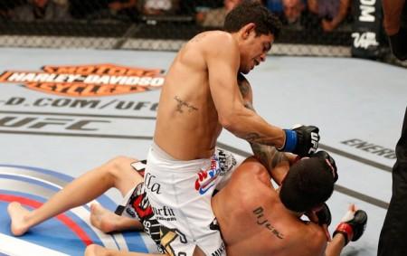 C. Diego bateu R. Nijem por nocaute no UFC 177. Foto: Josh Hedges/UFC