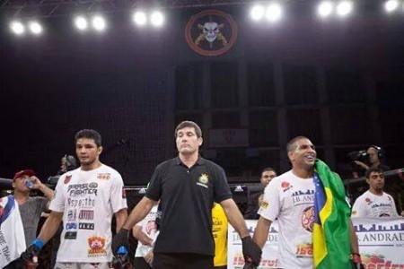 Luta entre Índio e Dutra foi alterada para no-contest. Foto: Reprodução/Facebook
