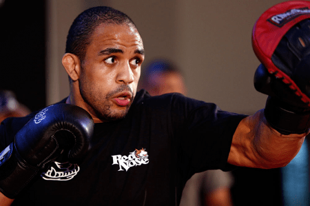 R. Feião (foto) se lesionou durante os treinamentos. Foto: Josh Hedges/UFC