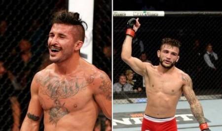 McCall (esq.) enfrentará Lineker (dir.) no Brasil. Foto: Divulgação/UFC