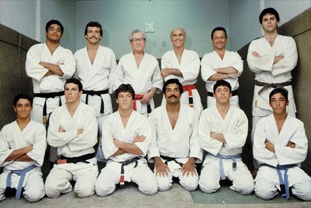 Família Gracie em 1981. Foto: Divulgação