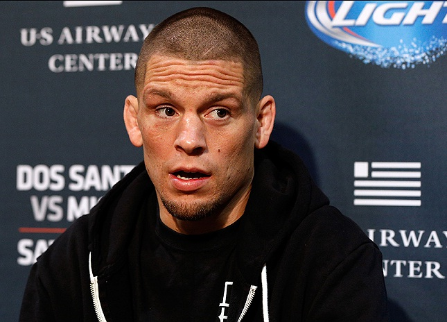 N. Diaz (foto) foi mais um atleta a criticar CM Punk. Foto: Josh Hedges/UFC