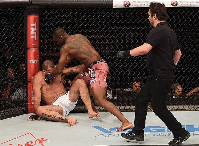Ex-campeão do PRIDE e do UFC, Shogun foi a grande decepção do ano. Foto: Josh Hedges/UFC