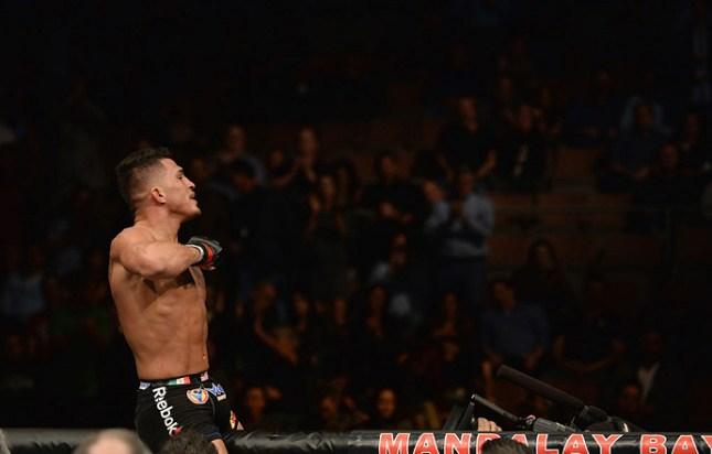 Pettis (foto) é o campeão dos leves do UFC. Foto: Divulgação/UFC