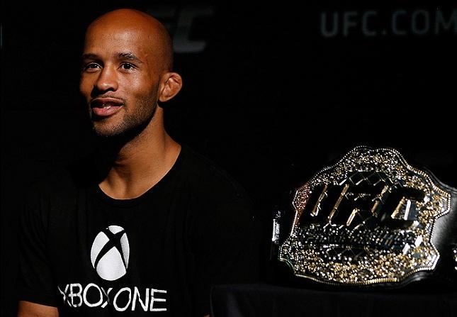D. Johnson (foto) é o único campeão dos moscas na história do UFC. Foto: Josh Hedges/UFC