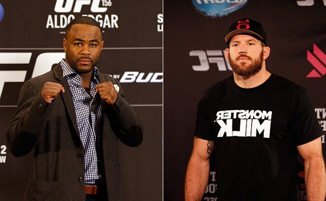Rashad (esq.) e Bader (dir.) são, respectivamente, quinto e terceiro colocados no ranking. Foto: Produção SUPER LUTAS (Josh Hedges/UFC)