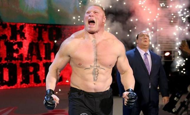 Lesnar (foto) voltou a ringue do WWE contra Undertaker. Foto: Divulgação