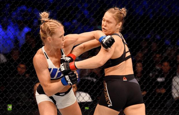 Ronda perdeu para Holm no UFC 193. Foto: Divulgação