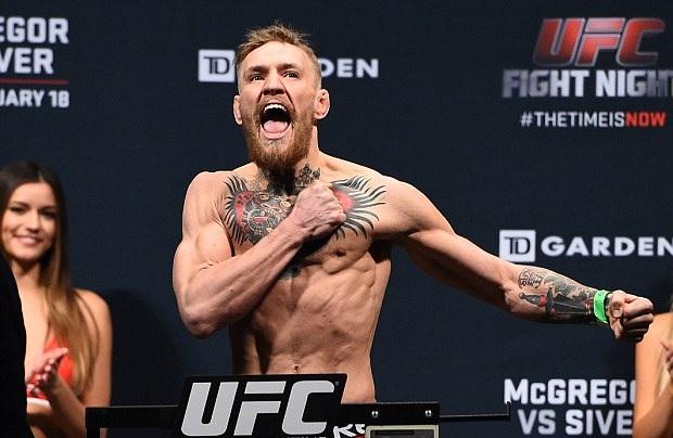 McGregor (foto) enfrenta Alvarez no UFC 205. Foto: Josh Hedges/UFC