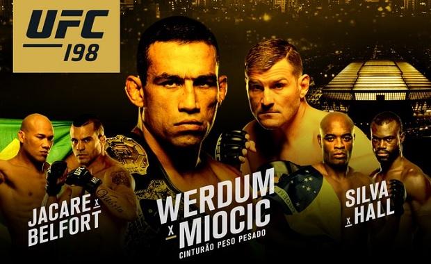 UFC 198 acontece no dia 14 de maio. Foto: Reprodução