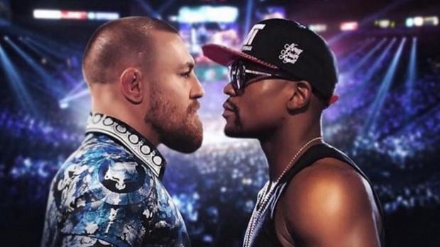 McGregor ameaçou Floyd Foto: Reprodução