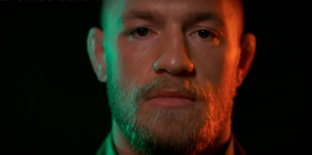 McGregor deixou mensagem de apoio à seleção irlandesa. Foto: Reprodução