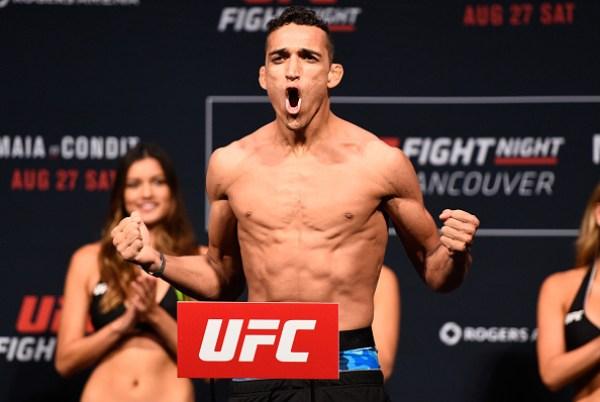 C. Oliveira enfrenta R. Lamas no UFC Méxido, dia 5 de novembro. (Foto: Getty Images)