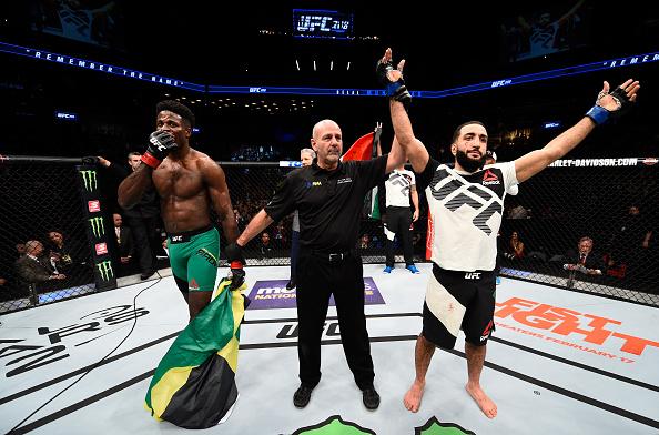 Muhammad venceu a segunda no UFC. (Foto: Getty Images)
