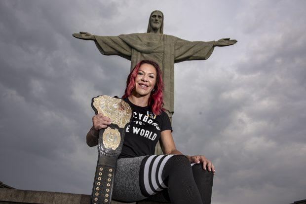 C. Cyborg está no Rio de Janeiro Foto: Alexandre Loureiro/Divulgação UFC