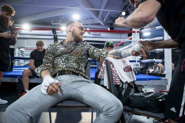 McGregor acredita em luta de um round (Foto: Reprodução Facebook Conor McGregor)