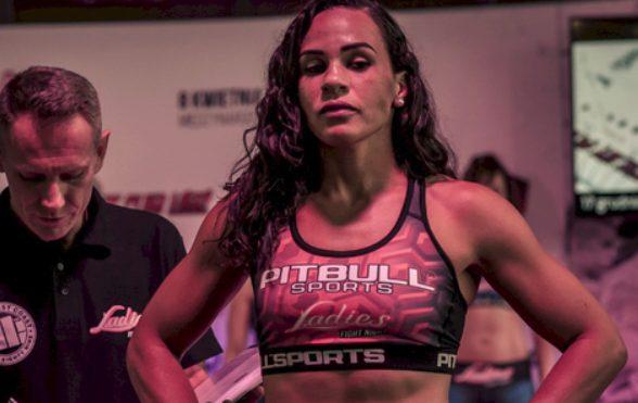 Talita fará sua estreia no UFC Holanda (Foto: Divulgação)