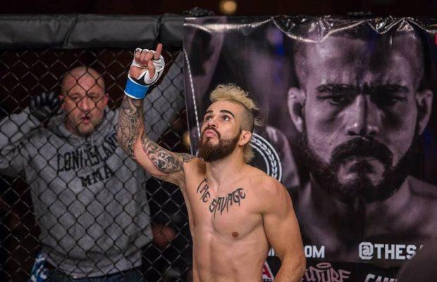 S. Da Silva jurou inocência (Foto: Reprodução Facebook Cage Fury Fighting Championships)