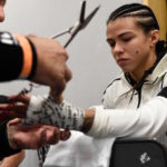 C. Gadelha suspensa por um mês e meio (Foto: Reprodução Facebook UFC)
