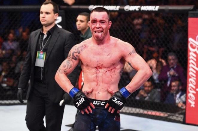Covington esnobou as criticas recebidas por brasileiros (Foto: Reprodução/Instagram UFCBrasil)