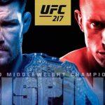Poster destaca confronto entre Bisping e GSP (Foto: Reprodução/Divulgação UFC)