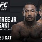 Duelo acontecerá dia 30 de dezembro, em Las Vegas (EUA) (Foto: Divulgação UFC)