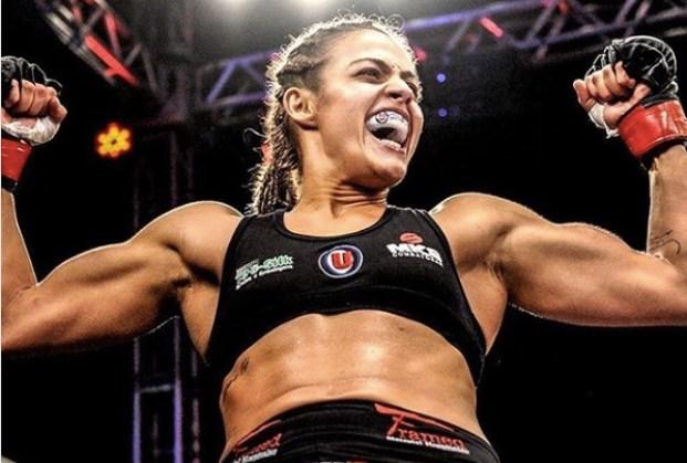 Poliana estreou com vitória no UFC (Foto: Reprodução/Facebook PolianaBotelho)