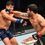 Assunção brilhou com nocaute em Lopez (Foto: Reprodução/Instagram UFCBrasil)