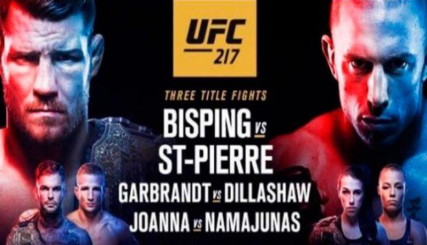 UFC 217 terá três disputas de título (Foto: Divulgação UFC)