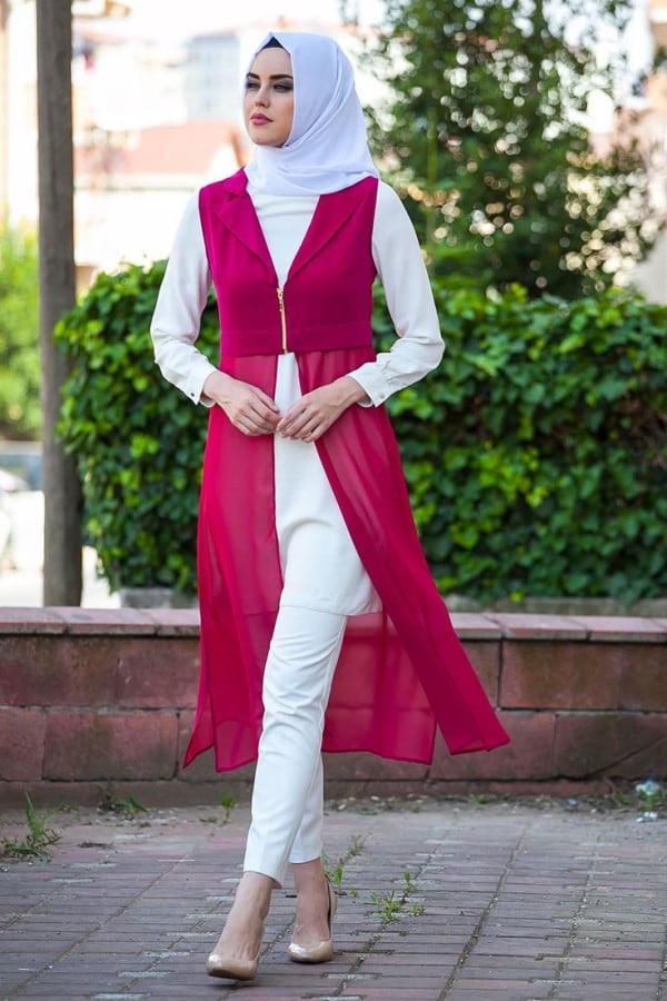11 فكرة لاختيار لون الحجاب المناسب لملابسك سوبر ماما