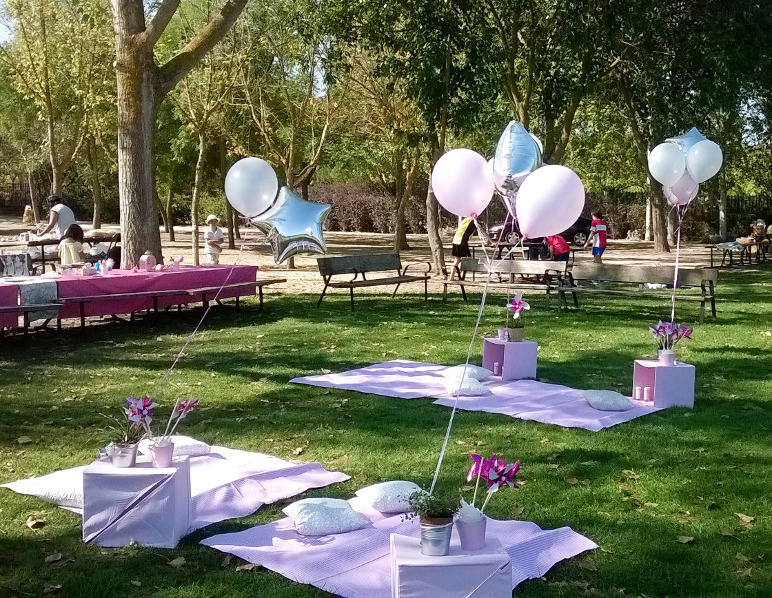Ideas para decorar cumplea os al aire libre blog supermamas for Decoracion parques