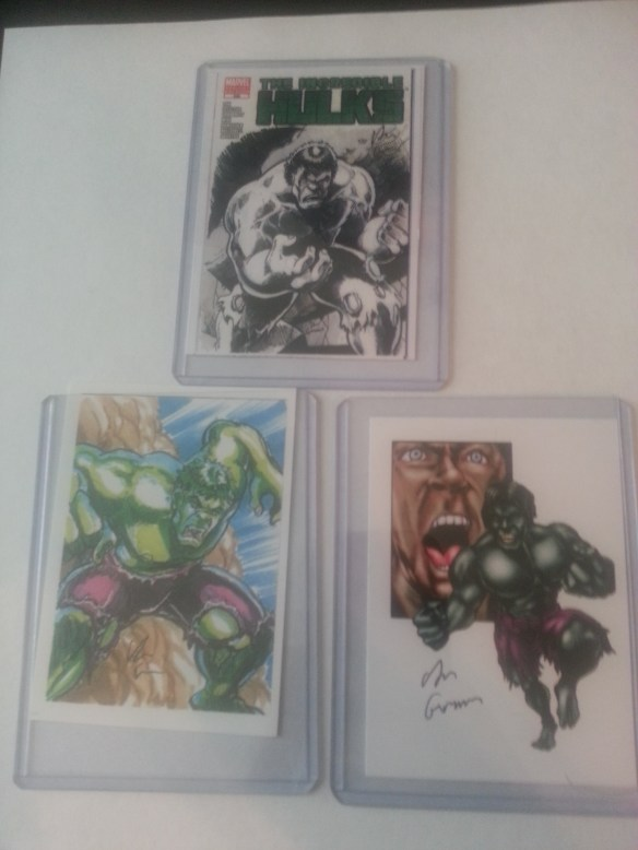 Dan Gorman's sketch cards