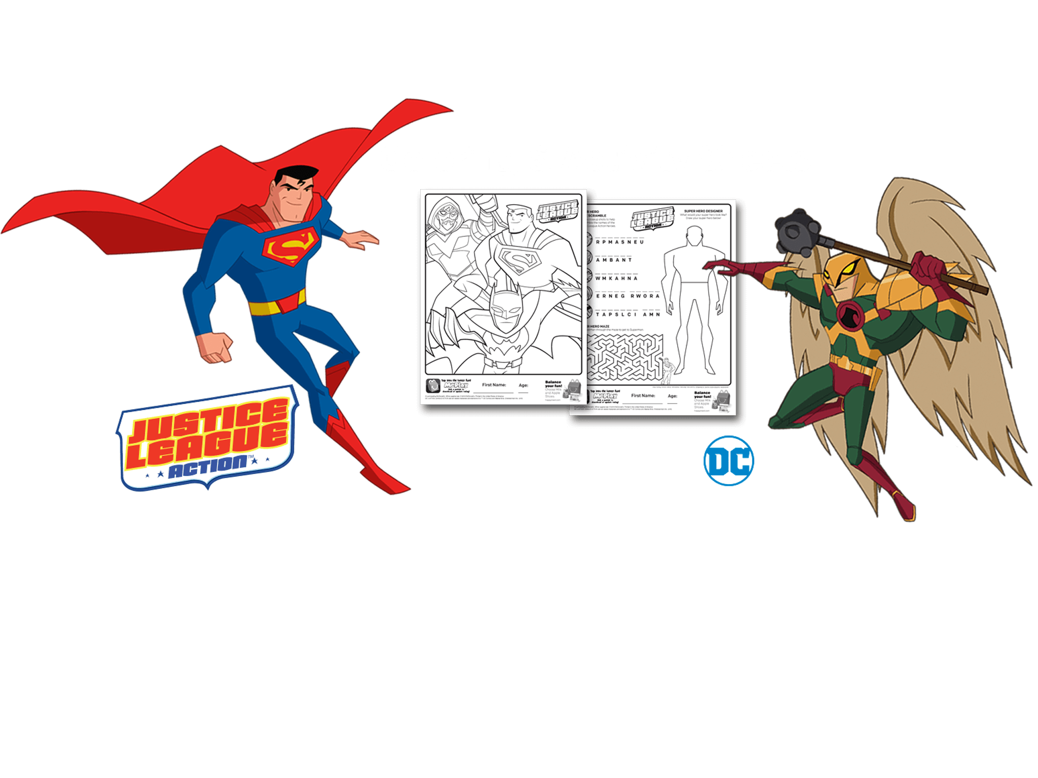 September 22 2016 Mcdonalds Justice League Action